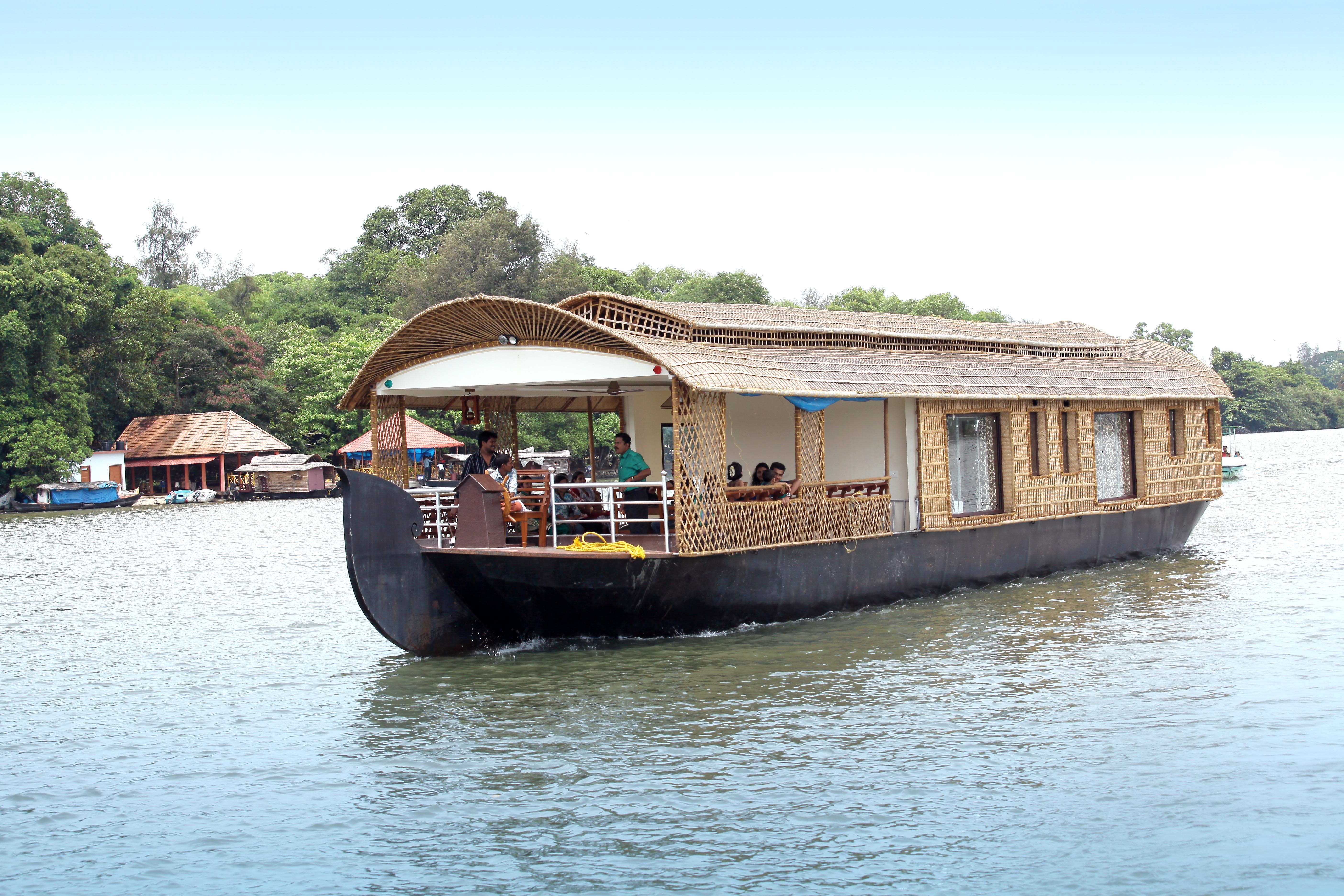 HOUSEBOAT TOURS ASHTAMUDI LAKE KOLLAM