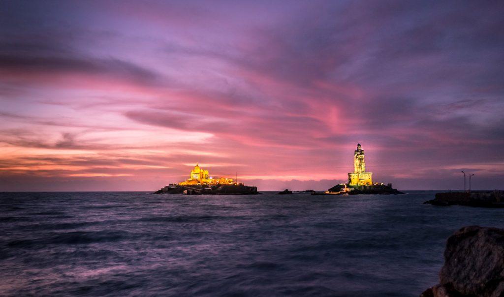 Trivandrum sunrise trip to kanyakumari
