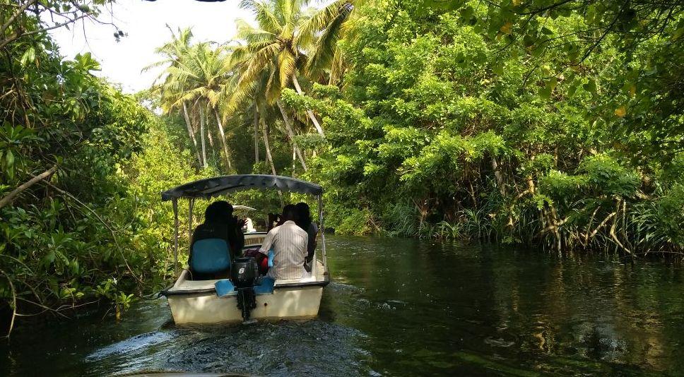 trivandrum poovar boat trip