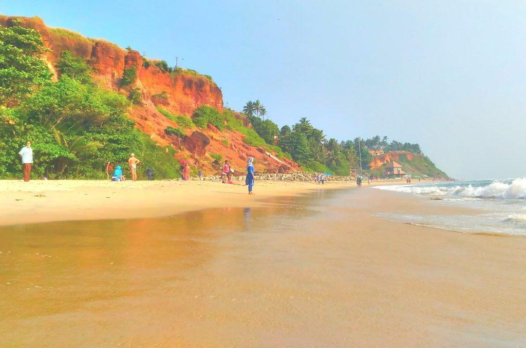trivandrum day tour varkala beach