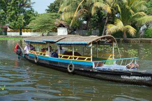 CochinBackwater shikara boat tour